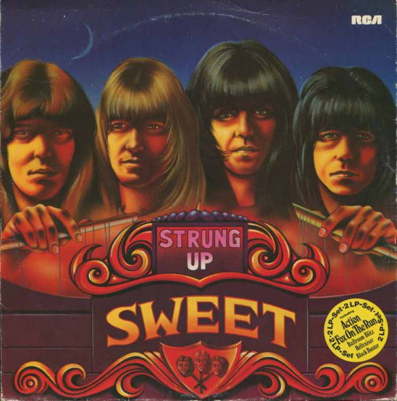 The Sweet ‎– Strung Up